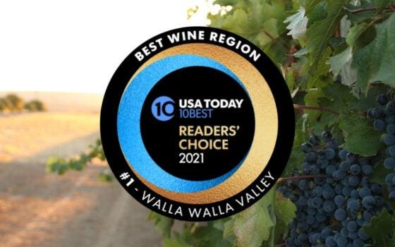 Walla Walla is Ameria's Best Wine Region!